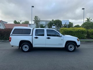 2009 Holden Colorado RC LX White 5 Speed Manual Dual Cab.
