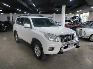 2013 Toyota Landcruiser Prado KDJ150R GXL White 5 Speed Sports Automatic Wagon.