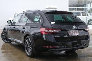 2016 Skoda Superb NP MY17 140TDI DSG Black 6 Speed Sports Automatic Dual Clutch Wagon.