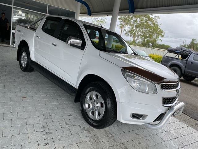 Used Holden Colorado LTZ Taree, 2015 Holden Colorado LTZ White Sports Automatic Dual Cab Utility