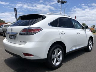 2013 Lexus RX GGL15R MY12 RX350 Luxury White 6 Speed Sports Automatic Wagon