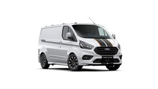 2021 Ford Transit Custom VN 2021.25MY 320S (Low Roof) Sport Frozen White 6 Speed Automatic Van.