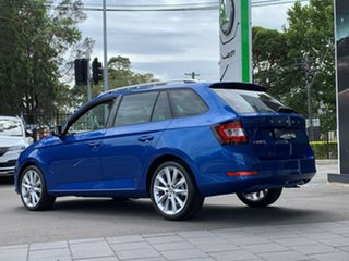 2020 Skoda Fabia NJ MY20.5 81TSI DSG Blue 7 Speed Sports Automatic Dual Clutch Wagon