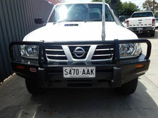 2004 Nissan Patrol GU II ST White 5 Speed Manual Cab Chassis