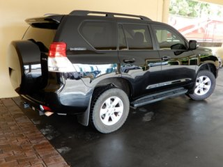 2012 Toyota Landcruiser Prado KDJ150R 11 Upgrade GXL (4x4) Black 5 Speed Sequential Auto Wagon.