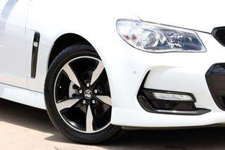 2016 Holden Ute VF II MY16 SV6 Ute Black White 6 Speed Manual Utility
