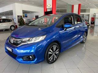2017 Honda Jazz GF MY17 VTi-L Blue 1 Speed Constant Variable Hatchback.
