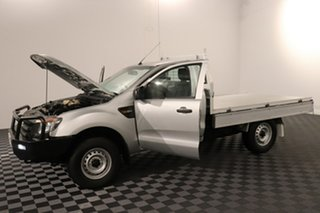 2014 Ford Ranger PX XL Silver 6 speed Manual Cab Chassis