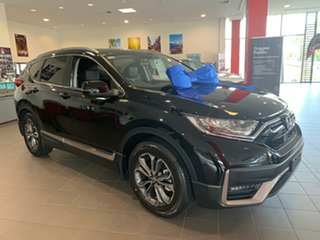 2020 Honda CR-V RW MY21 VTi FWD L7 Crystal Black 1 Speed Constant Variable Wagon