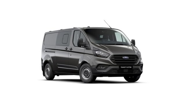 New Ford Transit Custom VN 2021.25MY 340L (Low Roof) West Gosford, 2021 Ford Transit Custom VN 2021.25MY 340L (Low Roof) Magnetic 6 Speed Automatic Double Cab Van