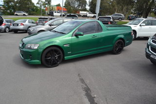 2010 Holden Ute VE MY10 SV6 Green 6 Speed Sports Automatic Utility