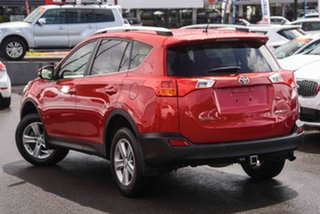 2014 Toyota RAV4 ZSA42R MY14 GXL 2WD Red 6 Speed Manual Wagon.