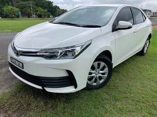 2018 Toyota Corolla ZRE172R Ascent S-CVT Glacier White 7 Speed Constant Variable Sedan.