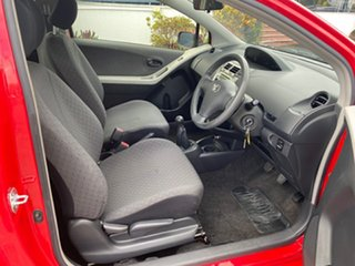 2009 Toyota Yaris NCP90R MY09 YR Red 5 Speed Manual Hatchback