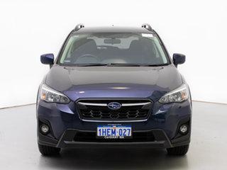 2018 Subaru XV MY18 2.0I Blue Continuous Variable Wagon.