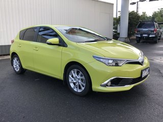 2015 Toyota Corolla ZRE182R Ascent Sport S-CVT Green 7 Speed Constant Variable Hatchback.