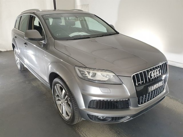 Used Audi Q7 MY11 TDI Tiptronic Quattro Maryville, 2010 Audi Q7 MY11 TDI Tiptronic Quattro Grey 8 Speed Sports Automatic Wagon