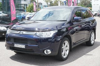 2012 Mitsubishi Outlander ZJ MY13 Aspire 4WD Blue 6 Speed Sports Automatic Wagon