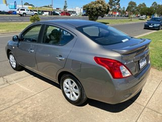 2012 Nissan Almera N17 TI Grey 4 Speed Automatic Sedan