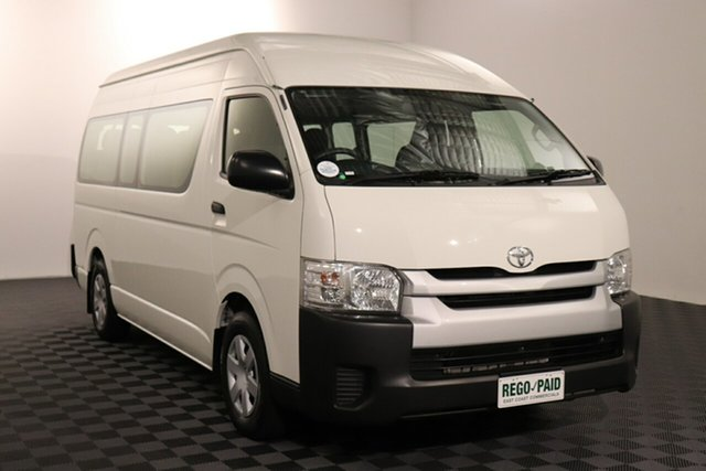 Used Toyota HiAce TRH223R MY14 Acacia Ridge, 2015 Toyota HiAce TRH223R MY14 French Vanilla Automatic Bus