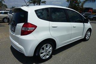 2012 Honda Jazz GE MY12 Vibe Antartic White 5 Speed Automatic Hatchback