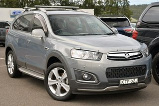 2014 Holden Captiva CG MY14 5 AWD LTZ Silver 6 Speed Sports Automatic Wagon