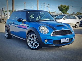 2008 Mini Hatch R56 Cooper S Chilli Laser Blue Manual Hatchback.