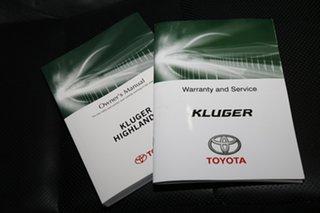 2016 Toyota Kluger GSU55R GXL AWD White 6 Speed Sports Automatic Wagon