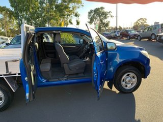 2014 Holden Colorado RG MY14 LX Space Cab Blue 6 Speed Sports Automatic Cab Chassis