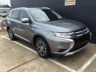 2018 Mitsubishi Outlander ZL MY18.5 ES 2WD ADAS Grey 6 Speed Constant Variable Wagon.