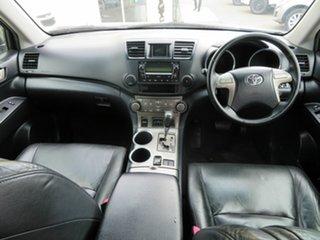 2008 Toyota Kluger GSU40R KX-S (FWD) White 5 Speed Automatic Wagon