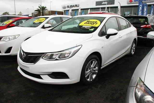 Used Holden Astra BL MY17 LS Aspley, 2017 Holden Astra BL MY17 LS White 6 Speed Sports Automatic Sedan