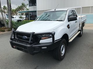 2017 Ford Ranger PX MkII 2018.00MY XL Cool White 6 speed Automatic Cab Chassis