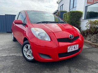 2009 Toyota Yaris NCP90R MY09 YR Red 5 Speed Manual Hatchback.