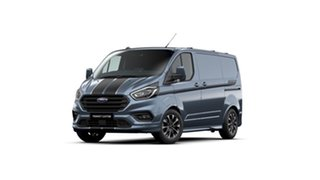 2020 Ford Transit Custom VN 2020.50MY 320S (Low Roof) Sport Blue 6 Speed Automatic Van.