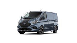 2021 Ford Transit Custom VN 2021.25MY 320S (Low Roof) Sport Blue Metallic 6 Speed Automatic Van.