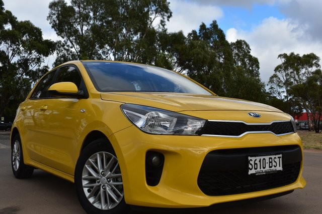 Used Kia Rio YB MY17 S St Marys, 2017 Kia Rio YB MY17 S Yellow 4 Speed Sports Automatic Hatchback