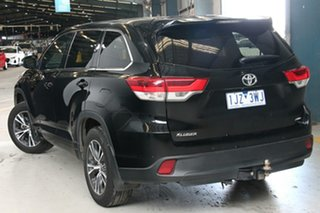 2016 Toyota Kluger GSU55R GX Eclipse Black 8 Speed Automatic Wagon.