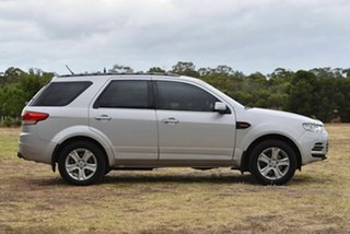 2012 Ford Territory SZ TX Seq Sport Shift Silver 6 Speed Sports Automatic Wagon
