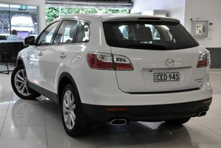 2011 Mazda CX-9 TB10A4 MY11 Luxury White 6 Speed Sports Automatic Wagon.