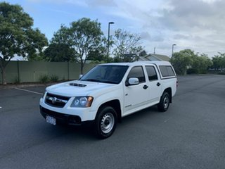 2009 Holden Colorado RC LX White 5 Speed Manual Dual Cab