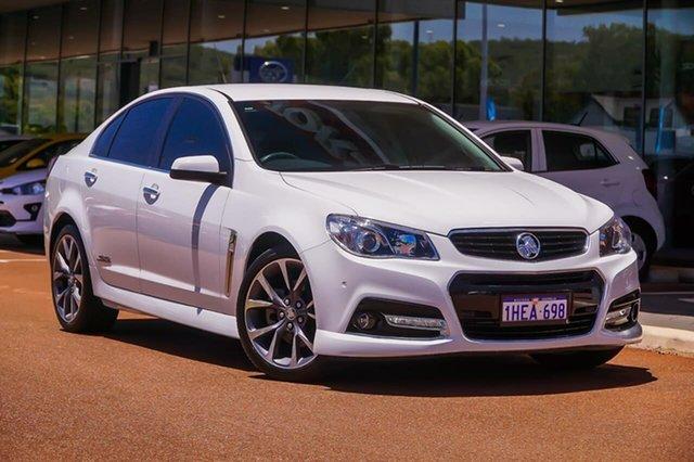 Used Holden Commodore VF MY14 SS V Gosnells, 2014 Holden Commodore VF MY14 SS V White 6 Speed Sports Automatic Sedan
