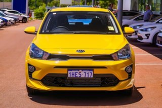 2020 Kia Rio YB S Yellow Automatic Hatchback.