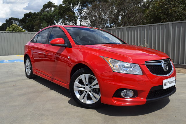 Used Holden Cruze JH Series II MY13 SRi Echuca, 2013 Holden Cruze JH Series II MY13 SRi Red 6 Speed Manual Sedan