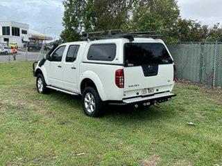 2012 Nissan Navara D40 S6 MY12 ST White 6 Speed Manual Utility