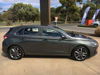 2020 Hyundai i30 PD.V4 MY21 Elite Amazon Gray, Mica 6 Speed Sports Automatic Hatchback.