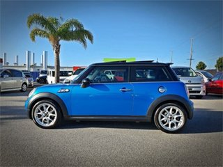 2008 Mini Hatch R56 Cooper S Chilli Laser Blue Manual Hatchback