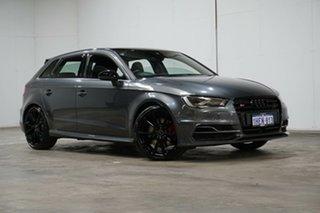 2016 Audi S3 8V MY16 Sportback S Tronic Quattro Daytona Grey 6 Speed Sports Automatic Dual Clutch.