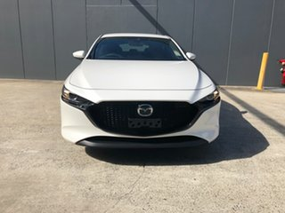 2020 Mazda 3 BP2H7A G20 SKYACTIV-Drive Evolve Snowflake White 6 Speed Sports Automatic Hatchback.