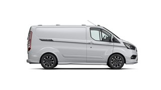2021 Ford Transit Custom VN 2021.25MY 320S (Low Roof) Sport Frozen White 6 Speed Automatic Van
